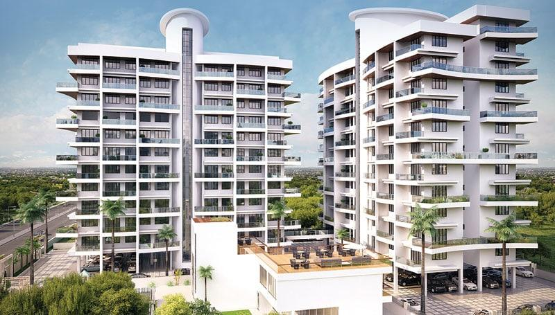3 BHK Flats & Apartments for Sale in Hadapsar, Pune - 4 Acre