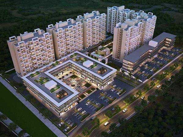 2 BHK Flats & Apartments for Sale in Undri, Pune - 8.64 Acre
