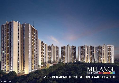 2 BHK 1050 Sq.ft. Residential Apartment for Sale in Hinjewadi Phase 3, Pune