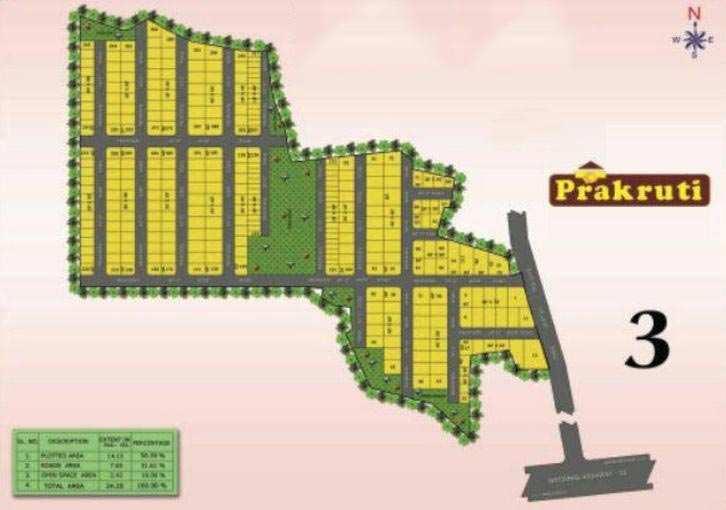 Residential Plot for Sale in Sontyam, Visakhapatnam - 90 Sq. Yards