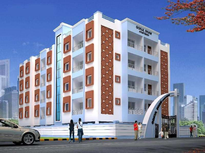 2 BHK Flats & Apartments for Sale in Adityapur, Jamshedpur - 982 Sq. Feet