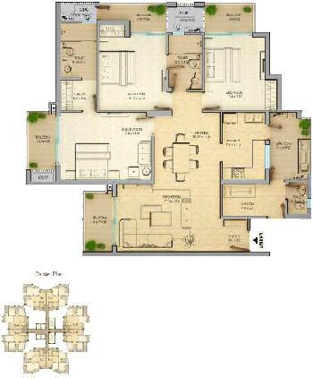 3 BHK 1930 Sq.ft. Residential Apartment for Sale in Techzone 4, Greater Noida West