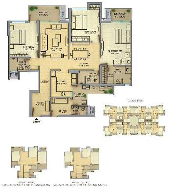 3 BHK 2005 Sq.ft. Residential Apartment for Rent in Techzone 4, Greater Noida