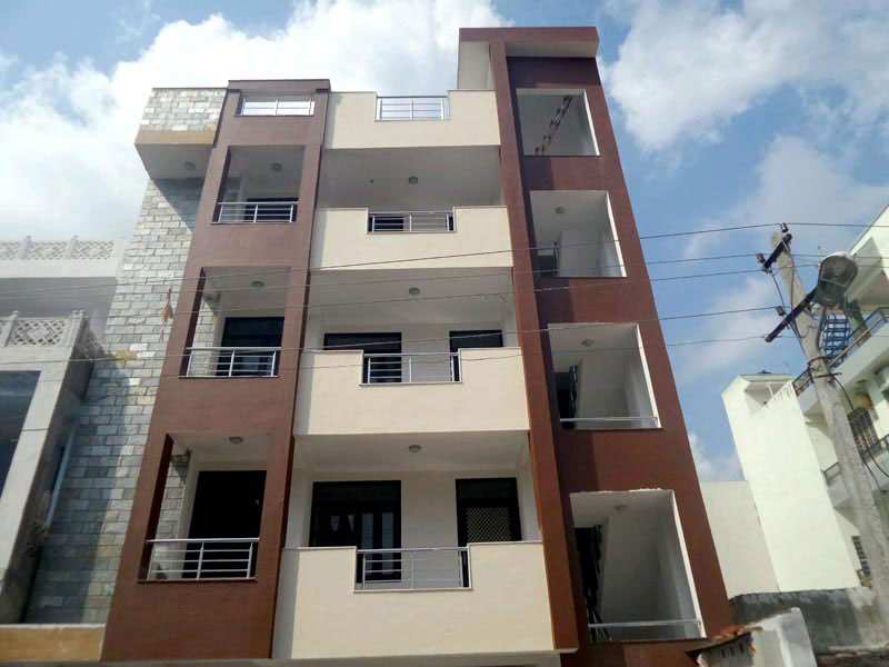 1400 Sq. Feet Flats & Apartments for Sale in New Sanganer Road, Jaipur - 1400  Cent