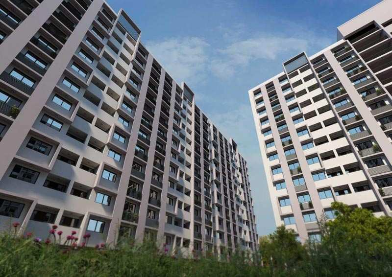 2 BHK Flats & Apartments for Sale in S G Highway, Ahmedabad - 923 Sq.ft.