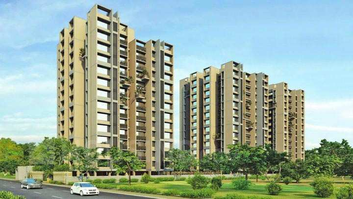 2 BHK Flats & Apartments for Sale in South Bopal, Ahmedabad - 1195 Sq.ft.
