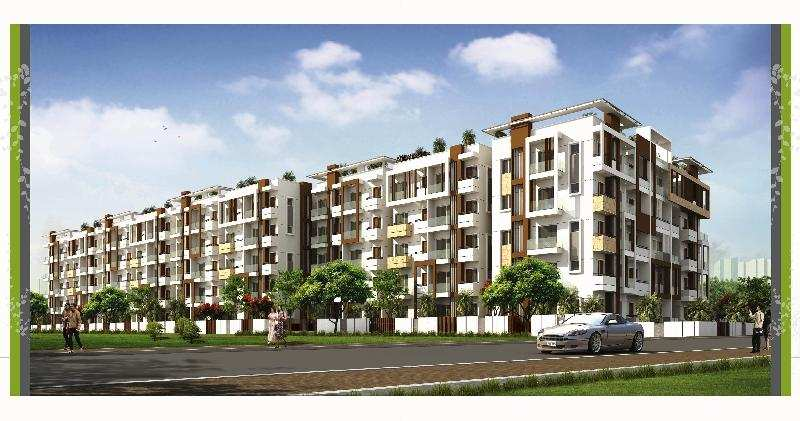 2 BHK Flats & Apartments for Sale in Whitefield, Bangalore - 4.2 Ares