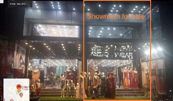 1557 Sq.ft. Showroom for Sale in church Road Agra