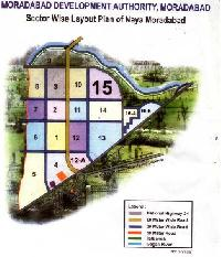 Moradabad development authority residential plot scheme.