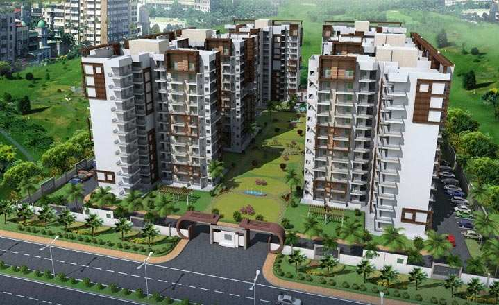 4 BHK Flats & Apartments for Sale in Zirakpur - 2300 Sq.ft.