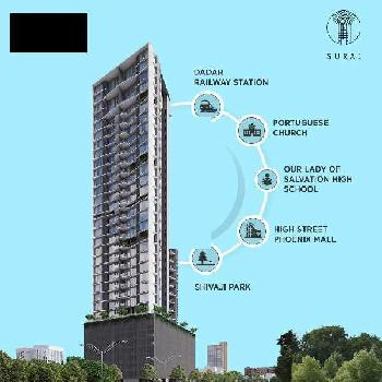 3 BHK 1466 Sq.ft. Residential Apartment for Sale in Dadar West, Mumbai