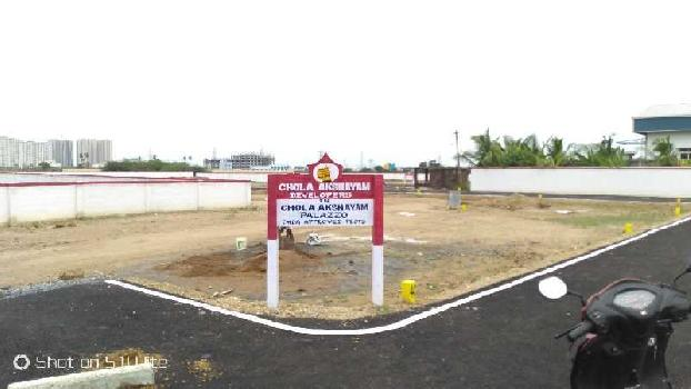 1000 Sq.ft. Residential Plot for Sale in Sithalapakkam, Chennai