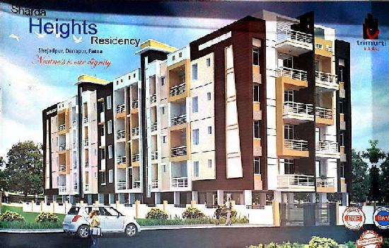3 BHK 1166 Sq.ft. Residential Apartment for Sale in Gola Road, Patna
