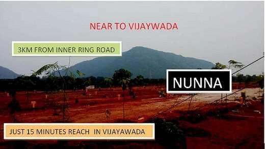 100 Sq. Yards Residential Plot for Sale in Nunna, Vijayawada