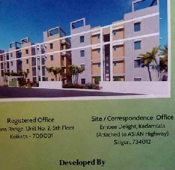 2 BHK 600 Sq.ft. Residential Apartment for Sale in Kadamtala, Siliguri