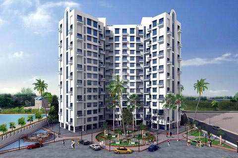 2 BHK Flats & Apartments for Sale in Mira Road, Mumbai North - 995 Sq. Feet
