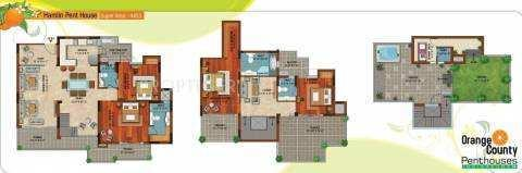 4455 Sq.ft. Penthouse for Sale in Indirapuram, Ghaziabad