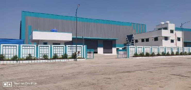 186000 Sq.ft. Industrial Land for Rent in Chakan MIDC, Pune