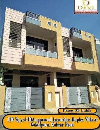 4 BHK 100 Sq. Yards House & Villa for Sale in Gokulpura, Jaipur