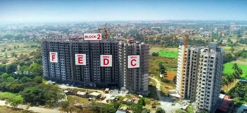 2 BHK 1050 Sq.ft. Residential Apartment for Sale in Whitefield, Bangalore