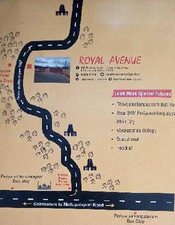 1500 Sq.ft. Residential Plot for Sale in Periyanaickenpalayam, Coimbatore