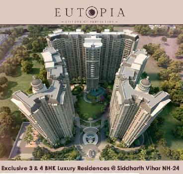 3 BHK 1895 Sq.ft. Residential Apartment for Sale in Siddharth  Vihar, Ghaziabad