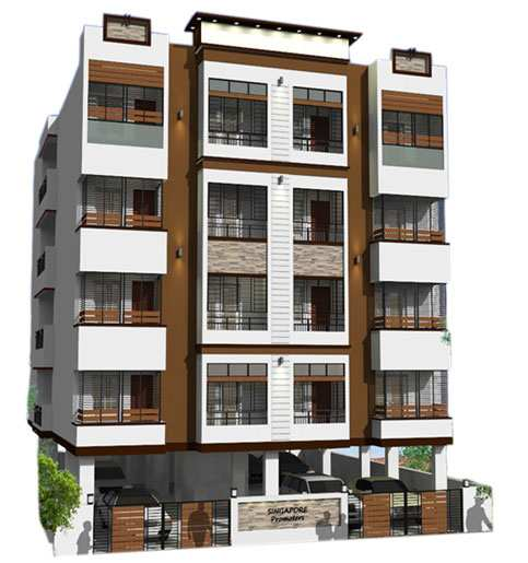1250 Sq. Feet Flats & Apartments for Sale in Greater Mohali, Mohali - 1250 Sq.ft.