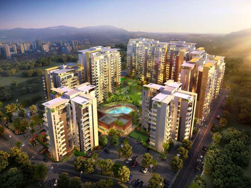 3 BHK Flats & Apartments for Sale in Zirakpur - 1650 Sq.ft.