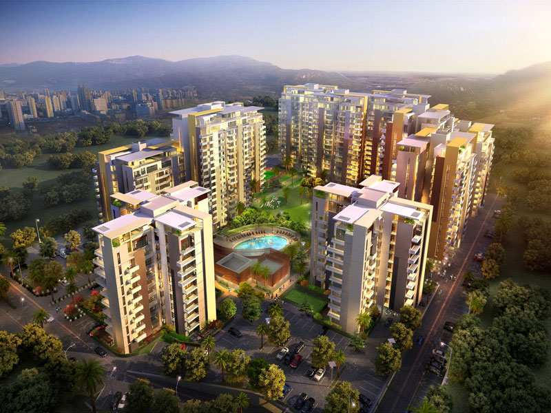 3 BHK Flats & Apartments for Sale in Zirakpur - 1885 Sq.ft.