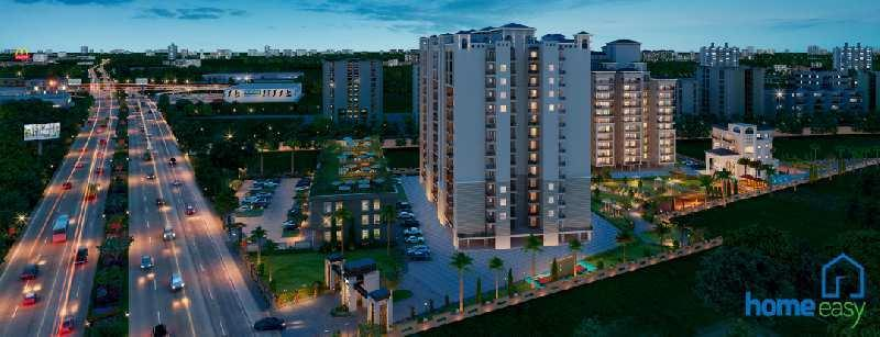 3 BHK 1230 Sq.ft. Residential Apartment for Sale in Zirakpur Road, Chandigarh