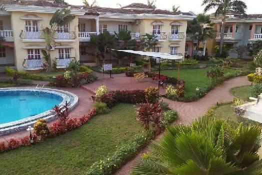 1 BHK 625 Sq.ft. Residential Apartment for Sale in Colva, Goa