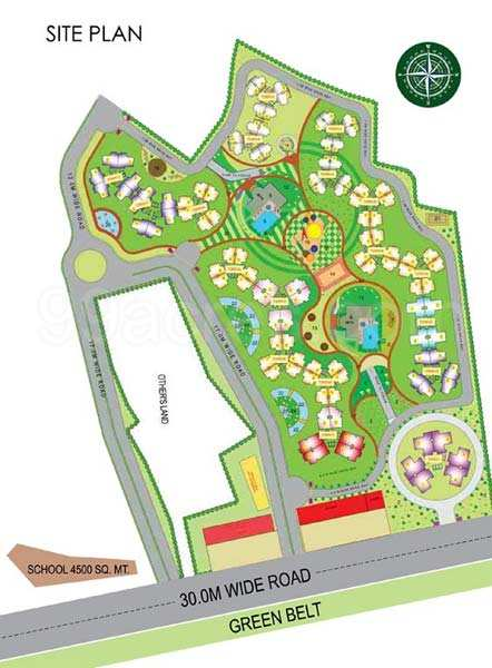 2 BHK Flats & Apartments for Sale in Sector 68, Gurgaon - 1020 Sq.ft.