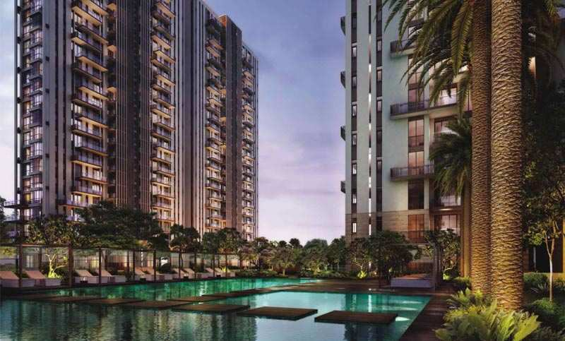 3 BHK Flats & Apartments for Sale in Sector 102, Gurgaon - 2075 Sq. Feet