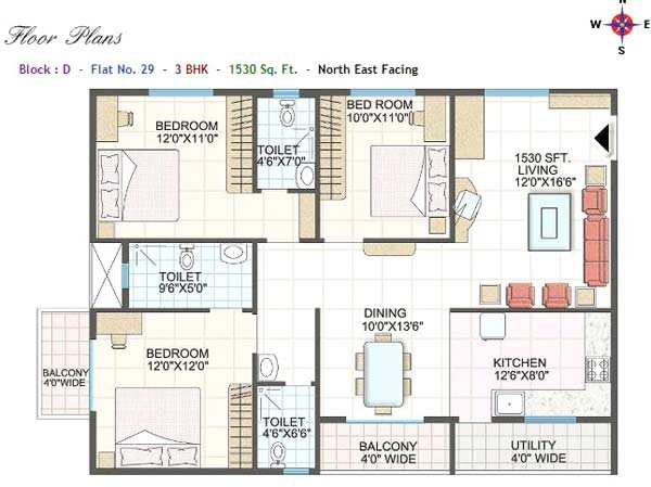 3 Bhk Flats Amp Apartments For Sale At Bangalore Rei230810