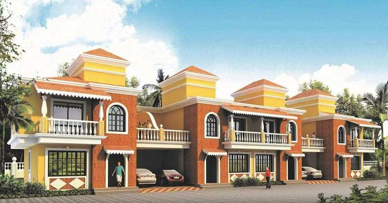4 BHK Bungalows / Villas for Sale in North Goa, Goa - 197 Sq. Meter