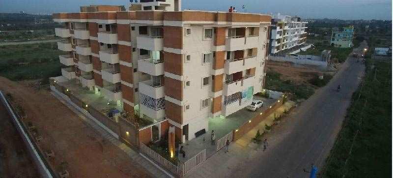 2 BHK Flats & Apartments for Sale in Akshaya Nagar, Bangalore - 1090 Sq. Feet