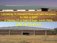 120000 Sq.ft. Commercial Land for Rent in Silvassa