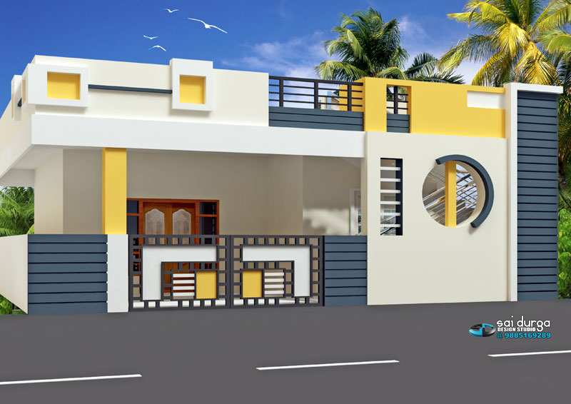 2 bhk individual house home for sale at chinnamusidivada for Individual house models in chennai