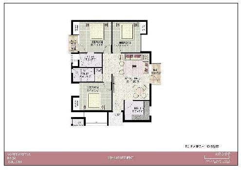 3 BHK 1250 Sq.ft. Residential Apartment for Sale in Sector 134 Noida