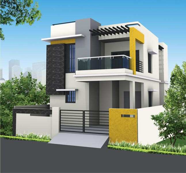 3 Floor House Elevation Designs Andhra : Bhk individual houses villas for sale in nellore