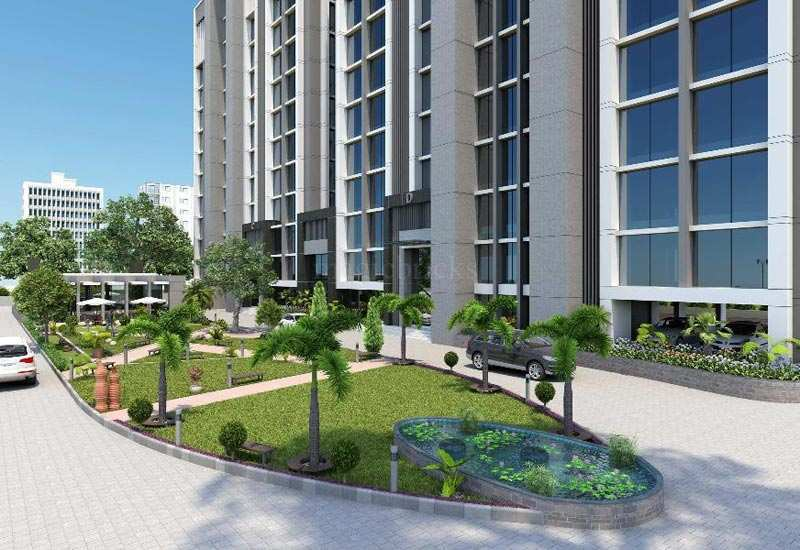 565 Sq. Feet Office Space for Rent in Vastrapur, Ahmedabad West - 565 Sq.ft.