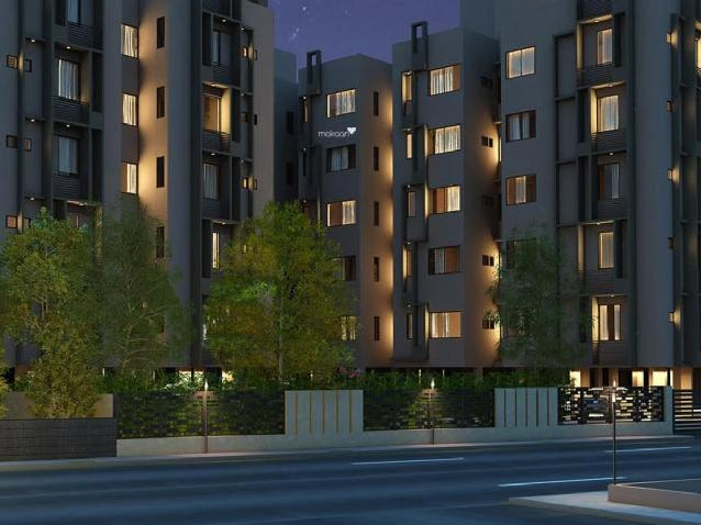 2 BHK Flats & Apartments for Sale in Vejalpur, Ahmedabad - 900 Sq. Feet