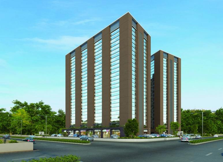 3 BHK Flats & Apartments for Sale in Prahlad Nagar, Ahmedabad - 1705 Sq.ft.