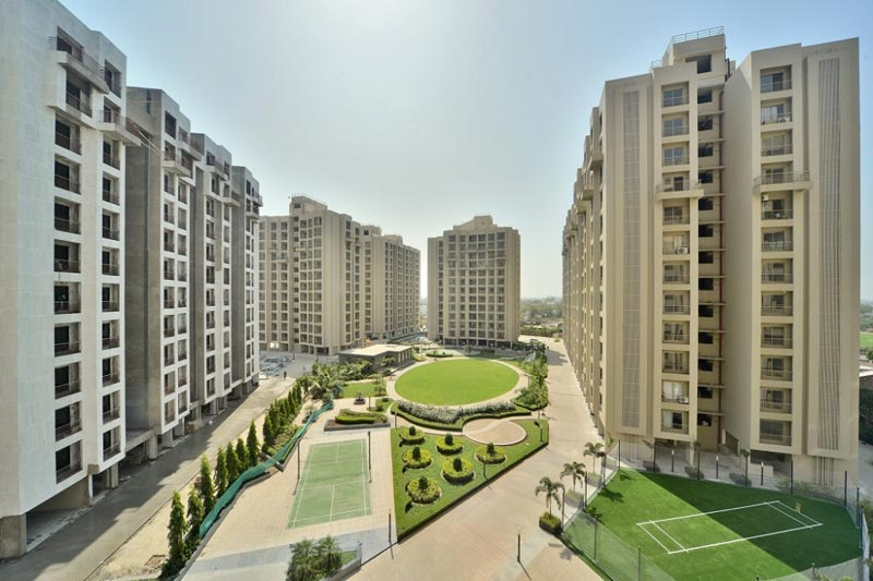 2 BHK Flats & Apartments for Sale in Prahlad Nagar, Ahmedabad - 1070 Sq. Feet