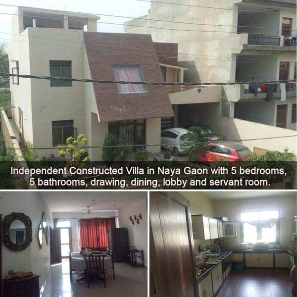 5 BHK Bungalows / Villas for Sale in Naya Gaon - 3000 Sq.ft.