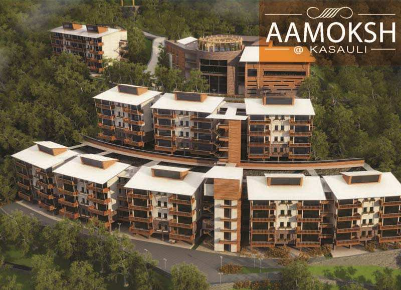 1 BHK Flats & Apartments for Sale in Kasauli - 1014 Sq.ft.