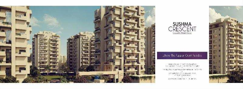 3 BHK Flats & Apartments for Sale in Ambala Road, Zirakpur - 1690 Sq. Feet