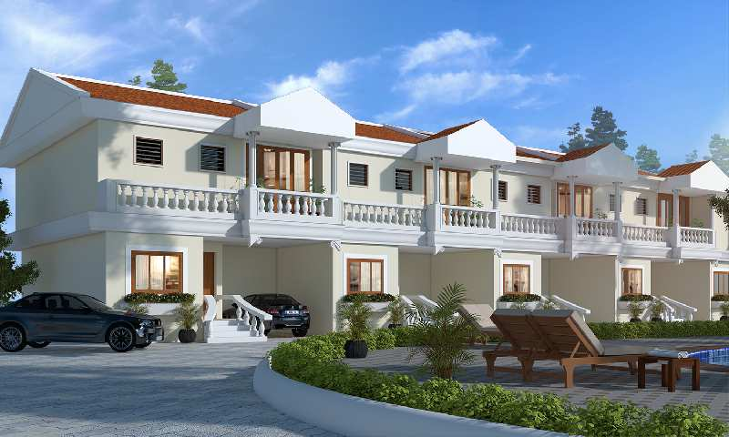 3 bhk independent houses villas for sale in utorda, south goa, goa - 129 sq. meter