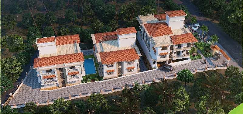 2 bhk flats apartments for sale in nachinola, north goa, goa - 79 sq. meter