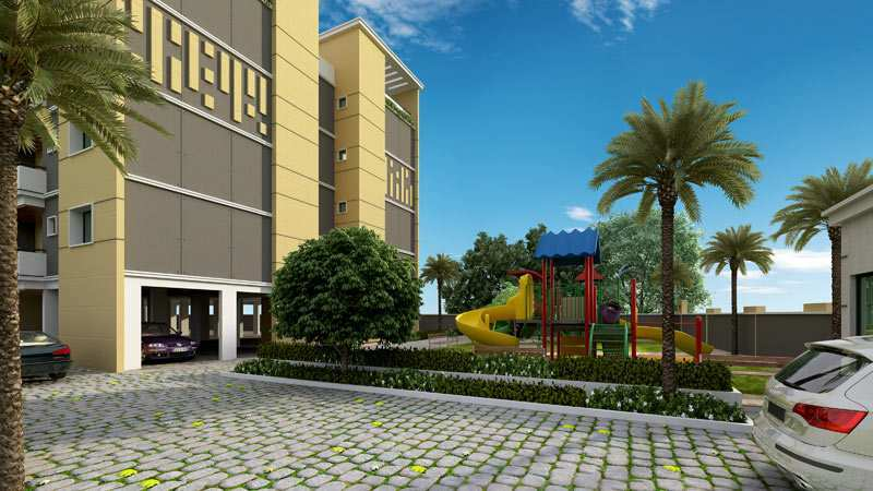 2 Bhk Flats & Apartments for Sale in Bommasandra, Bangalore South - 1020 Sq.ft.